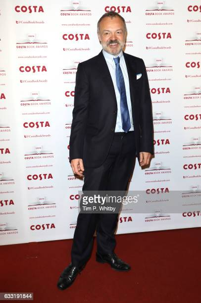 Graham Norton attends the Costa Book Of The Year Award 2016 at Quaglino's on January 31 2017 in London United Kingdom