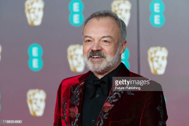 Graham Norton attends the EE British Academy Film Awards ceremony at the Royal Albert Hall on 02 February, 2020 in London, England.- PHOTOGRAPH BY...