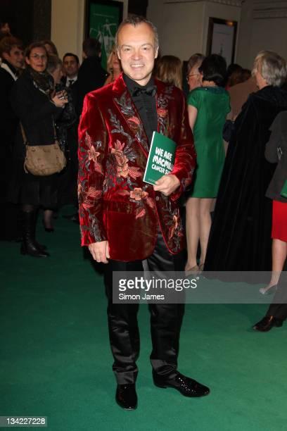 Graham Norton attends the Macmillan Centenary Gala at London Palladium on November 28 2011 in London England