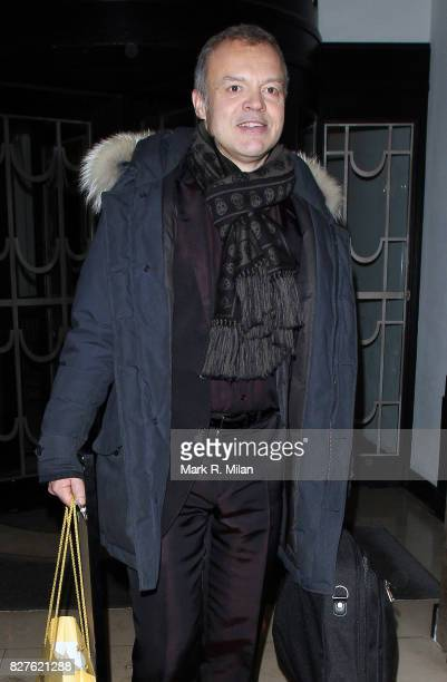 Graham Norton attends the Radio Times Covers Party at Claridges Hotel on January 29 2013 in London England
