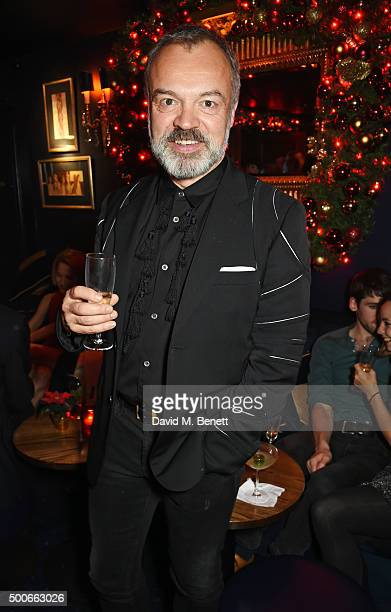 Graham Norton attends the Sunday Times Style Christmas Party at Tramp on December 9 2015 in London England