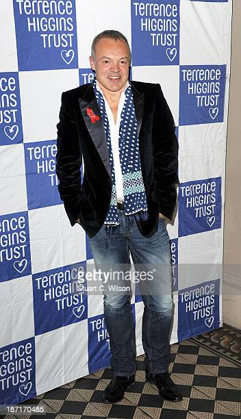 Graham Norton attends 'The Supper Club' in aid of The Terrance Higgins Trust at One Mayfair on November 6 2013 in London England