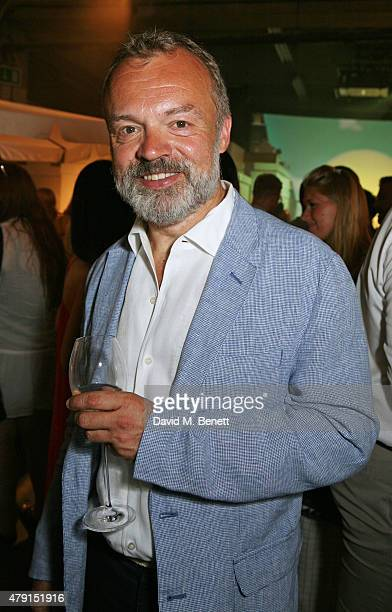 Graham Norton attends the Tiffany Co immersive exhibition 'Fifth 57th' at The Old Selfridges Hotel on July 1 2015 in London England