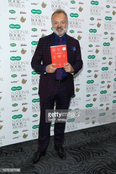 Graham Norton author of 'A Keeper' attends the National Book Awards at RIBA on November 20 2018 in London England
