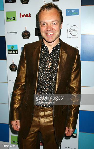Graham Norton backstage in the Sultans of Swag Gift Lounge at the 2006 British Comedy Awards