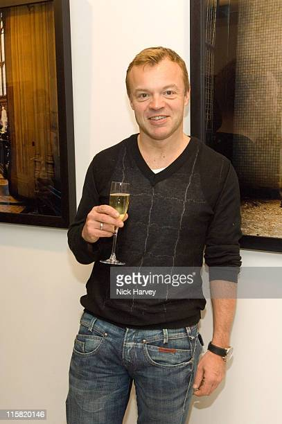 Graham Norton during The Children's Society Exhibition When I Grow Up Private View at The Hospital in London Great Britain