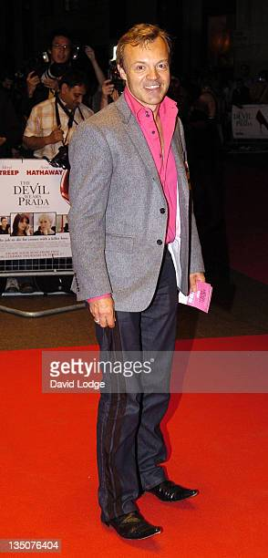 Graham Norton during 'The Devil Wears Prada' London Gala Screening at Odeon Leicester Square in London Great Britain