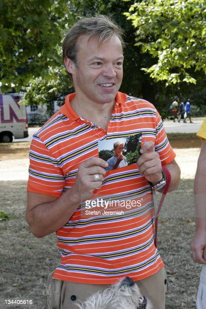 Graham Norton during Walk For Life July 30 2006 at Hyde Park in London Great Britain