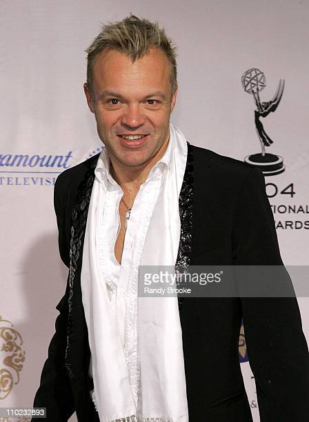 Graham Norton host during 32nd Annual International Emmy Awards Arrivals at New York Hilton in New York New York United States