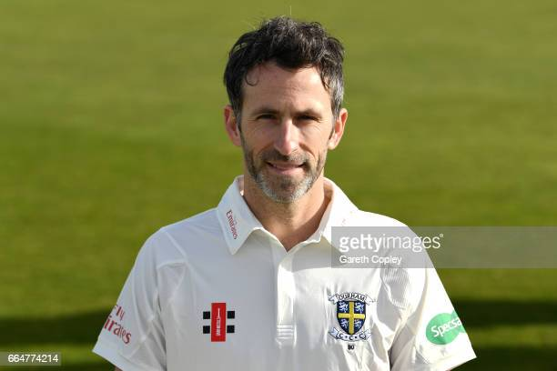 Graham Onions of Durham poses for a portrait during their press day at The Riverside on April 5 2017 in ChesterleStreet England