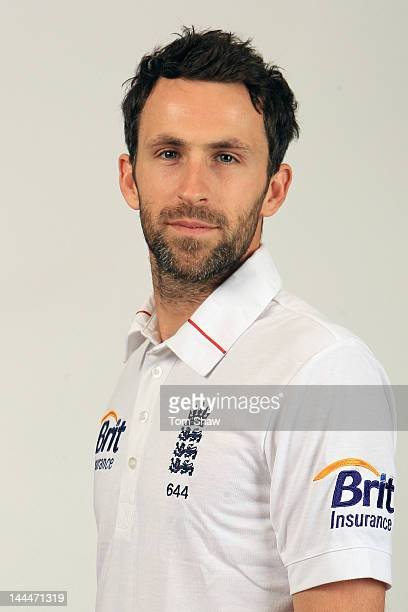 Graham Onions of England poses for a headshot at Lord's Cricket Ground on May 14 2012 in London England