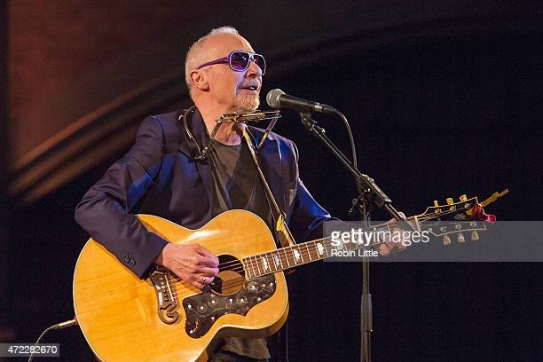 Graham Parker performs at the Union Chapel on May 5, 2015 in London, United Kingdom