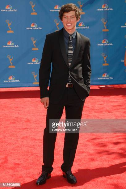 Graham Phillips attends 62nd Annual Primetime Emmy Awards Arrivals at Nokia Theatre LA Live on August 29 2010 in Los Angeles CA