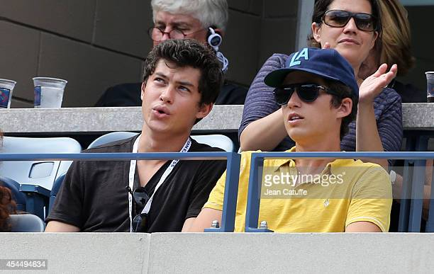 Graham Phillips attends Day 8 of the 2014 US Open at USTA Billie Jean King National Tennis Center on September 1 2014 in the Flushing neighborhood of...