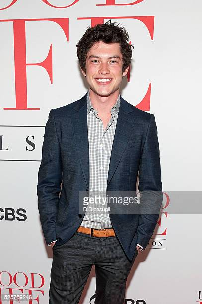 Graham Phillips attends The Good Wife Finale Party at the Museum of Modern Art on April 28 2016 in New York City