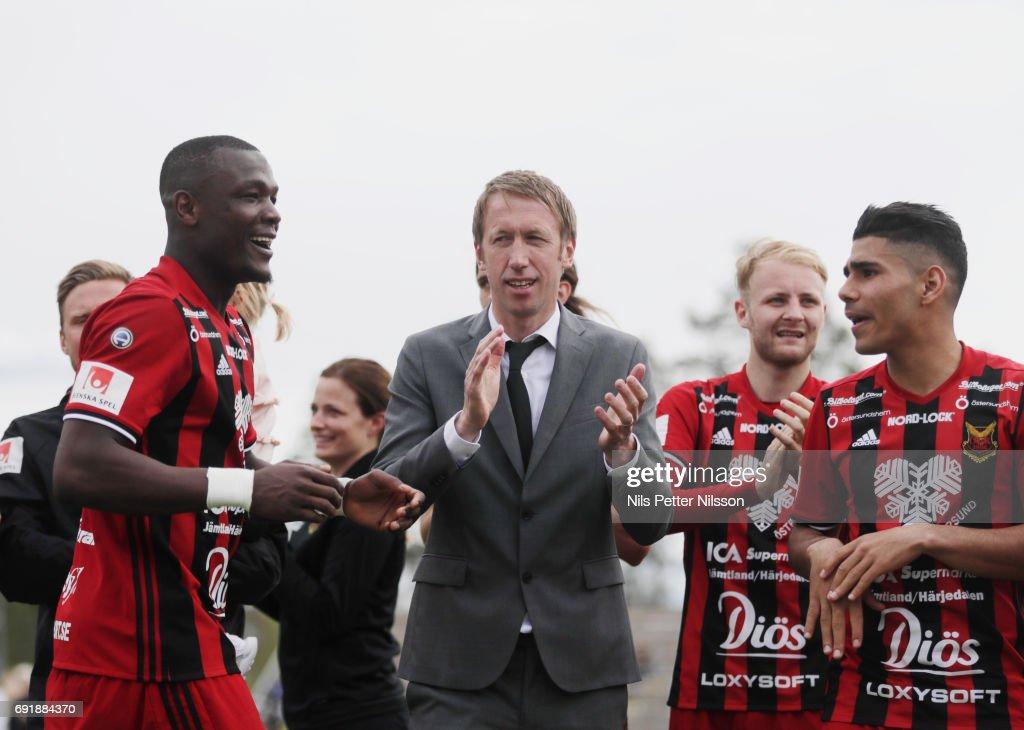Ostersunds FK v GIF Sundsvall - Allsvenskan : News Photo
