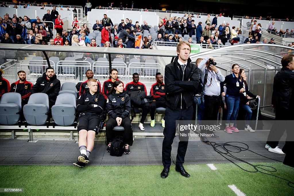 Djurgardens IF v Ostersunds FK - Allsvenskan : News Photo