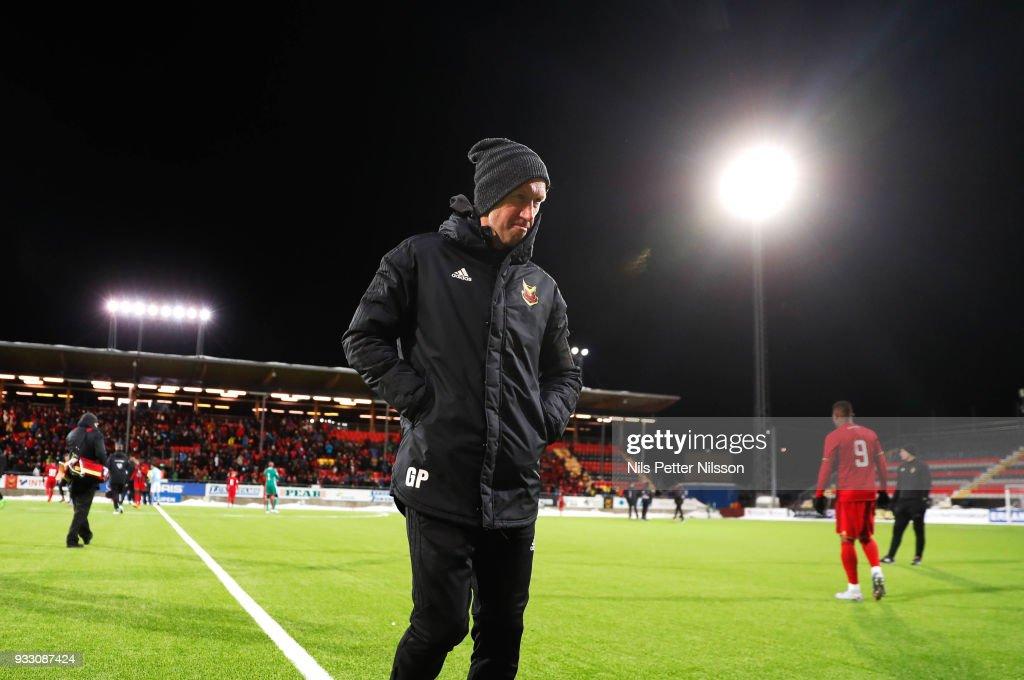 Ostersunds FK v Malmo FF - Swedish Cup Semi-Final : News Photo