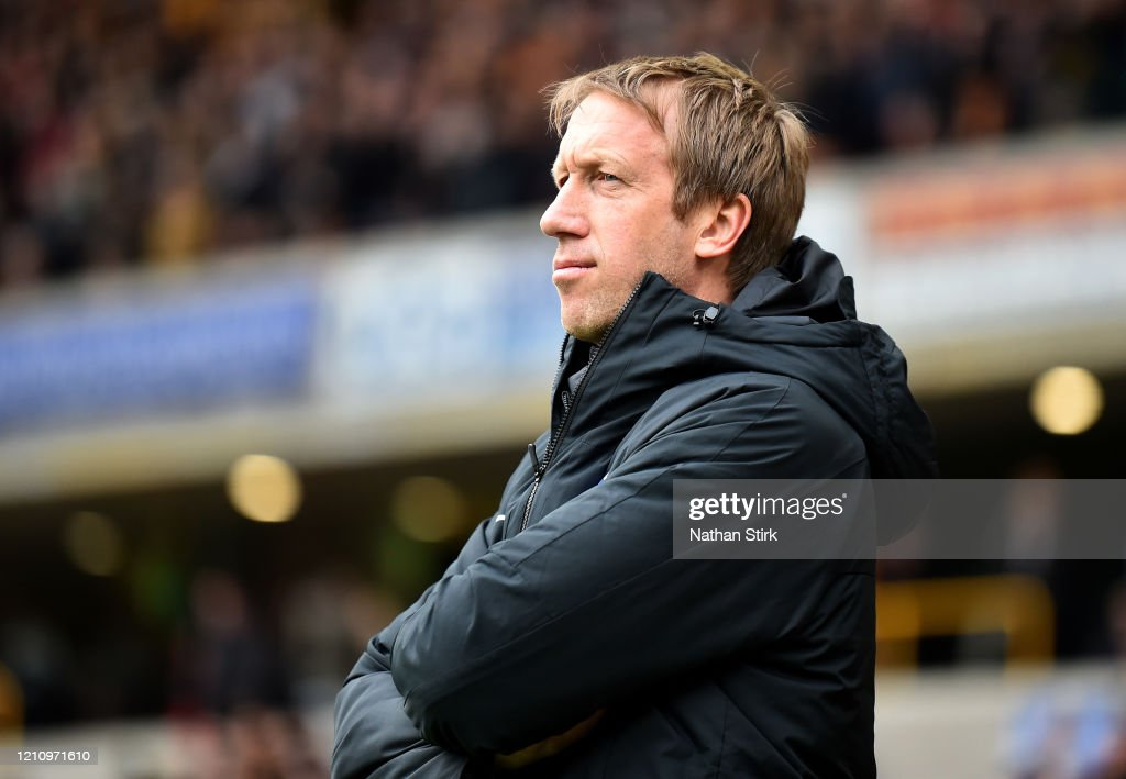 Wolverhampton Wanderers v Brighton & Hove Albion - Premier League : Nachrichtenfoto