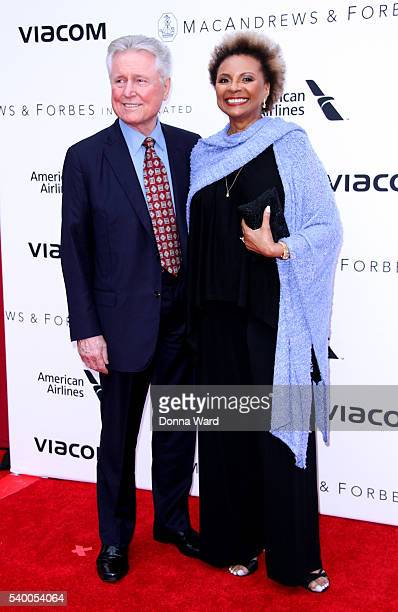 Graham Pratt and Leslie Uggams attend the Apollo Theater11th Annual Spring Gala at The Apollo Theater on June 13 2016 in New York City