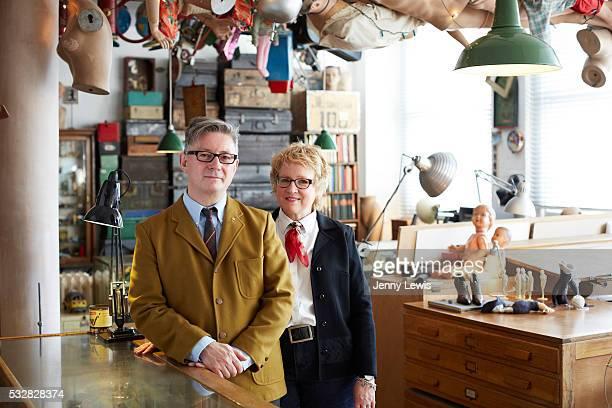 Graham Rawle and Margaret Huber
