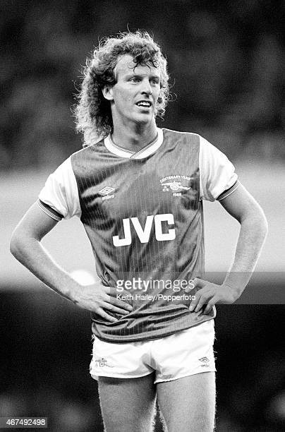 Graham Rix in action for Arsenal 20th August 1985