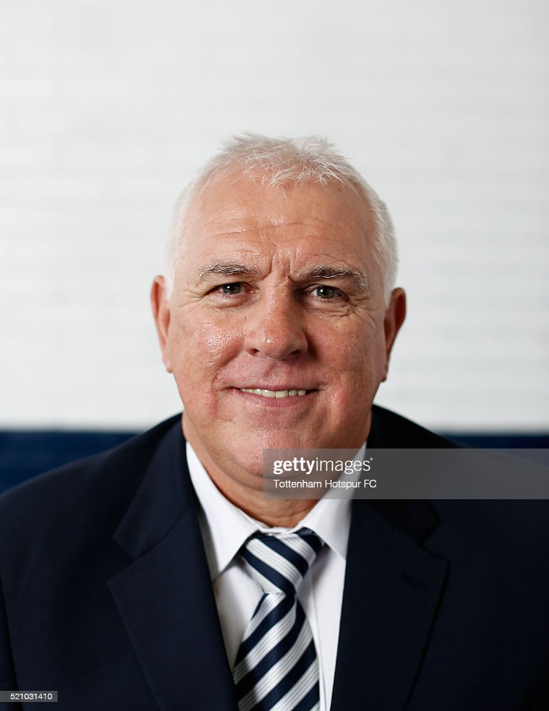 Graham Roberts poses at White Hart Lane on August 29, 2015 in London, England.
