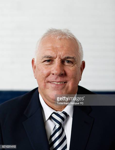 Graham Roberts poses at White Hart Lane on August 29 2015 in London England