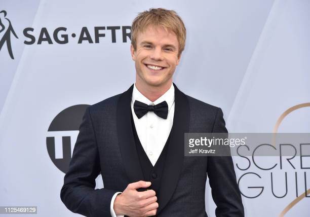 Graham Rogers attends the 25th Annual Screen ActorsGuild Awards at The Shrine Auditorium on January 27 2019 in Los Angeles California
