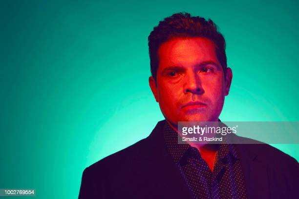 Graham Roland from Amazon Video's 'Tom Clancy's Jack Ryan' poses for a portrait at the Getty Images Portrait Studio powered by Pizza Hut at San Diego...