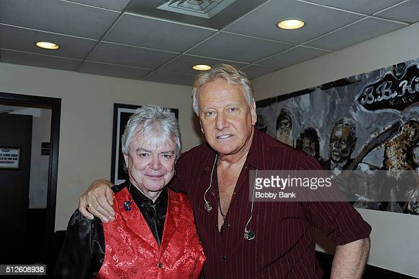Graham Russell and Russell Hitchcock of Air Supply perform at BB King Blues Club Grill on February 26 2016 in New York City