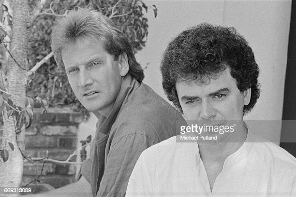 Graham Russell and Russell Hitchcock of Australian soft rock duo Air Supply Los Angeles California October 1983