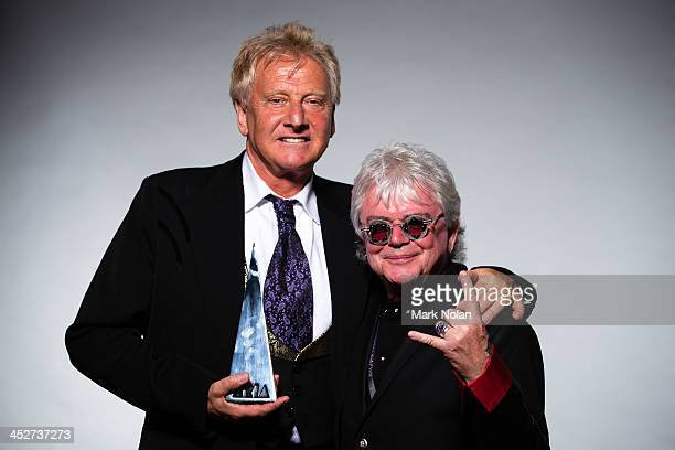 Graham Russell Russell Hitchock of Air Supply pose for a portrait during the 27th Annual ARIA Awards 2013 at the Star on December 1 2013 in Sydney...