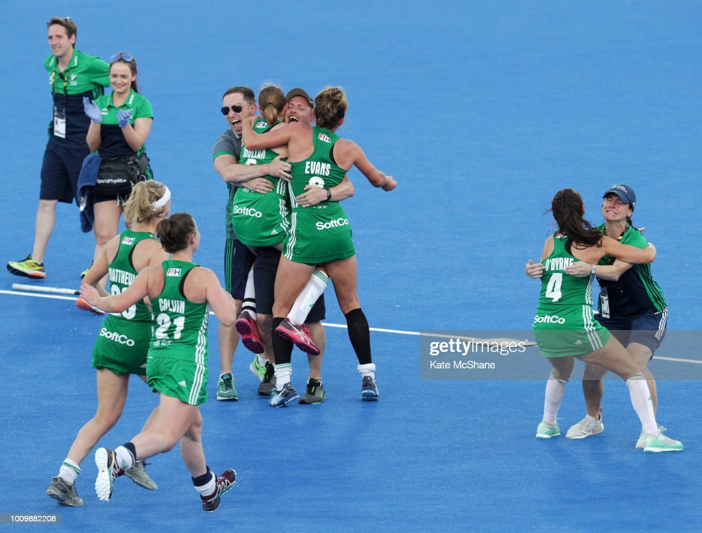 Ireland v India - FIH Womens Hockey World Cup Quarter Final : News Photo