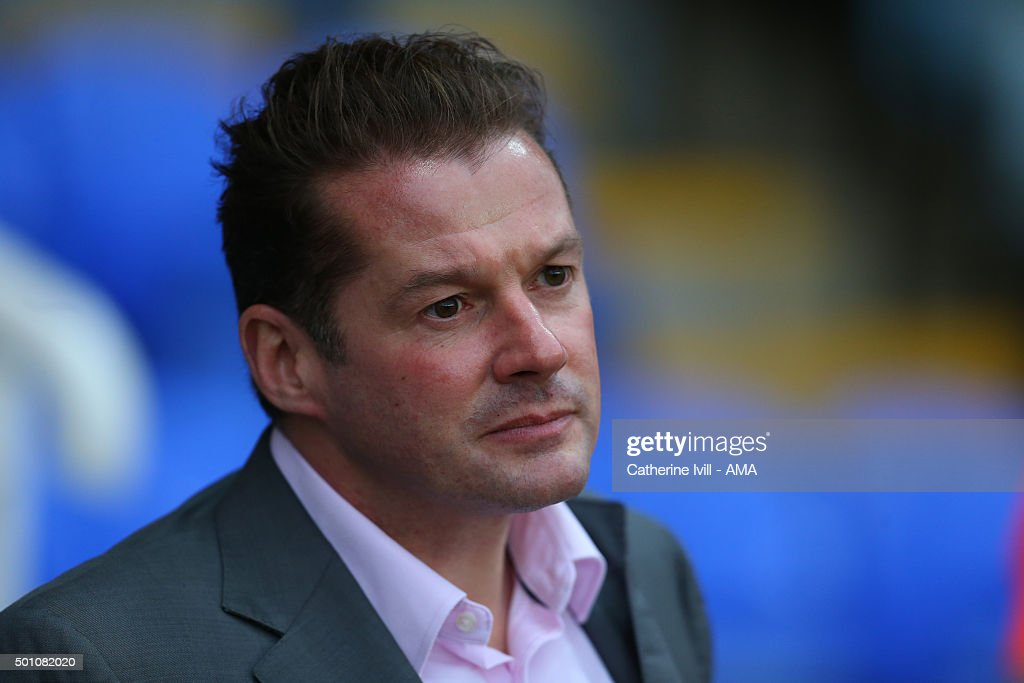 Graham Westley manager of Peterborough United during the Sky Bet League One match between Peterborough United and Shrewsbury Town at London Road Stadium on December 12, 2015 in Peterborough, England.