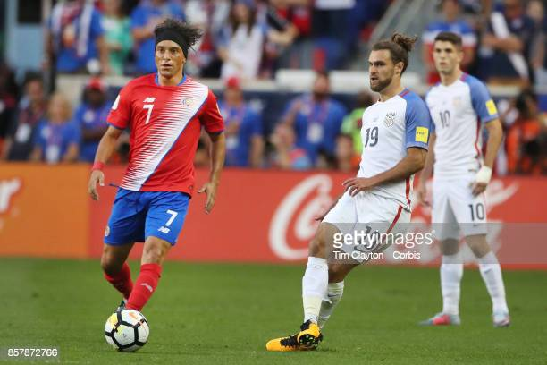 Graham Zusi of the United States in action during the United States Vs Costa Rica CONCACAF International World Cup qualifying match at Red Bull...
