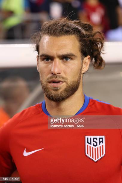 Graham Zusi of United States of America during the 2017 CONCACAF Gold Cup Quarter Final match between United States of America and El Salvador at...
