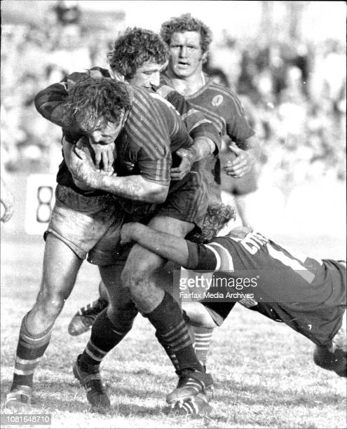 Grahame Olling RL at Cumberland Oval Easts V's Parramatta August 15 1976