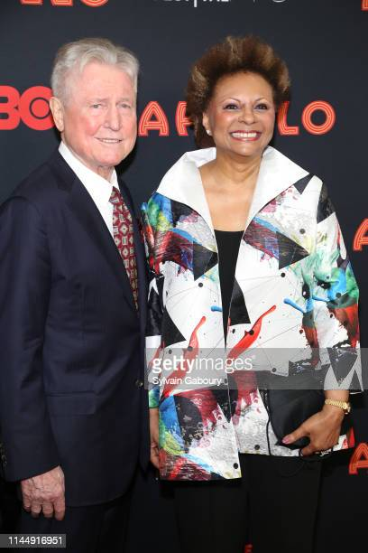 Grahame Pratt and Leslie Uggams attend 18th Annual Tribeca Film Festival 2019 Opening Night Screening Of The Apollo at The Apollo Theater on April 24...