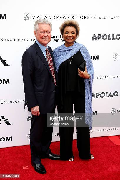 Grahame Pratt and Leslie Uggams attend Prince Walk of Fame Induction and 2016 Spring Gala at The Apollo Theater on June 13 2016 in New York City