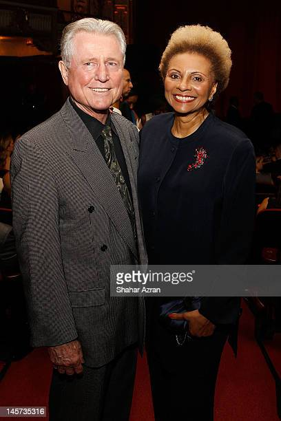 Grahame Pratt and Leslie Uggams attend the 7th annual Apollo Spring Gala Benefit at The Apollo Theater on June 4 2012 in New York City
