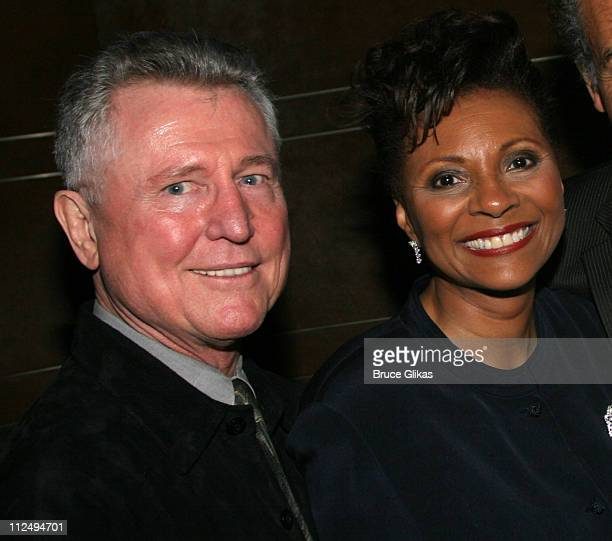 Grahame Pratt and Leslie Uggams during On Golden Pond Opening Night on Broadway Curtain Call and After Party at The Cort Theater and Blue Fin in New...