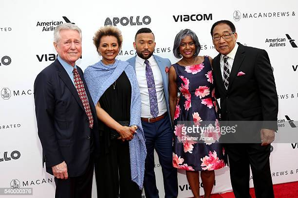 Grahame Pratt Leslie Uggams Taylor Alexander Patricia Holley and G Keith Alexander attend Prince Walk of Fame Induction and 2016 Spring Gala at The...