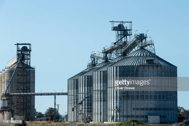 grain silo - image stock pictures, royalty-free photos & images