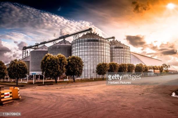 grain silo-lucas do rio verde, mato grosso, mt, brazil - mato grosso state stock pictures, royalty-free photos & images