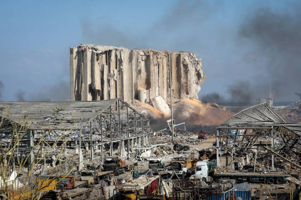 LBN: Aftermath of Explosion in Lebanon's Capital City