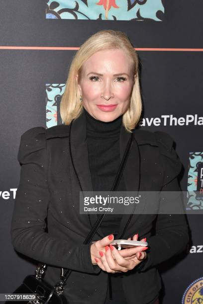 Graison Stemper attends the House Of Cardin Special Screening At Palm Springs Modernism Week at The Plaza Theater on February 21 2020 in Palm Springs...