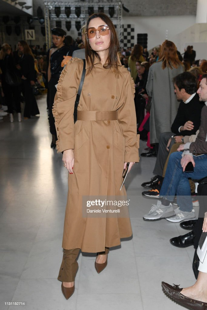79a1e8d514 Géraldine Boublil attends the Max Mara show during Milan Fashion ...
