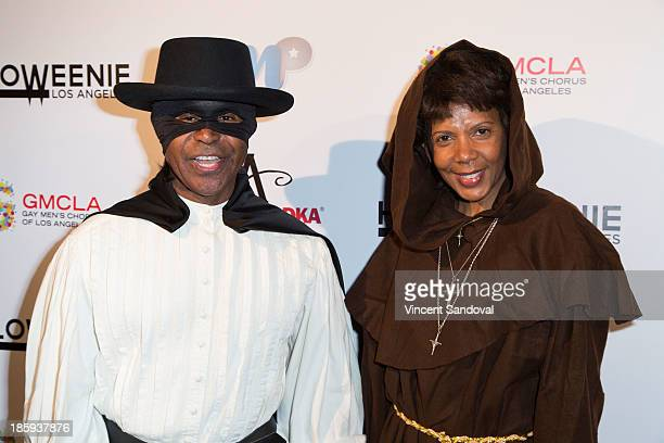 Gralin Jerald and actress Penny Johnson attend Fred and Jason's 8th annual Halloweenie holiday concert by the Gay Men's Chorus of Los Angeles at Los...