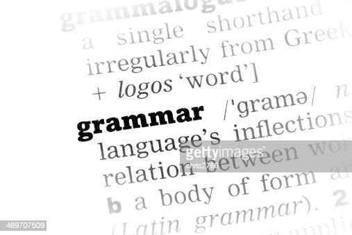 What is grammar definition